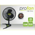 Klipsnový ventilátor PRO pr.20cm,7,5W