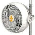 Monkey Fan 21cm, 20W oscilační - 2rychlosti, pro tyč 16-19mm